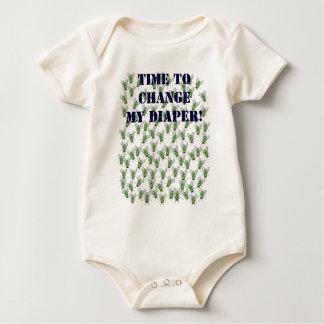 Baby shirt flies fly change diaper