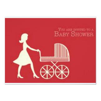 baby shower 17 cm x 22 cm invitation card