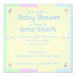 Baby Shower 5.25x5.25 Square Paper Invitation Card