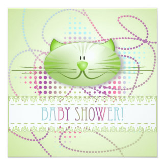 Baby Shower! announcement card