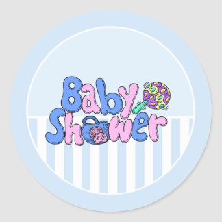 Baby Shower Announcement Envelope Stickers