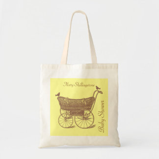 Baby Shower-Any Colour Canvas Bag