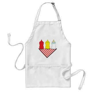 baby shower bbq adult apron