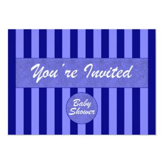 Baby Shower Blue Invitation