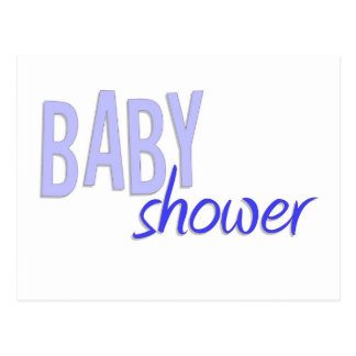 Baby Shower Boy Postcard