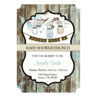 Lovely Baby Shower Brunch Invitation