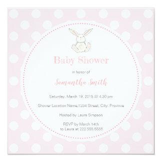 Baby Shower bunny ı Invitation