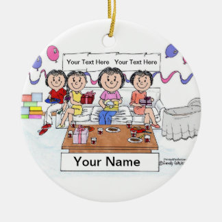 Baby Shower Ceramic Ornament