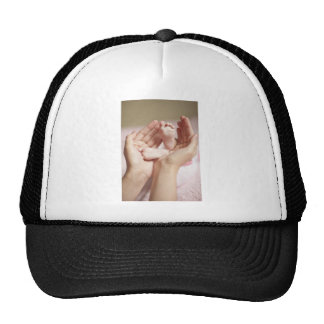 Baby Shower Crib Nursery Expecting Parent Mother Mesh Hat
