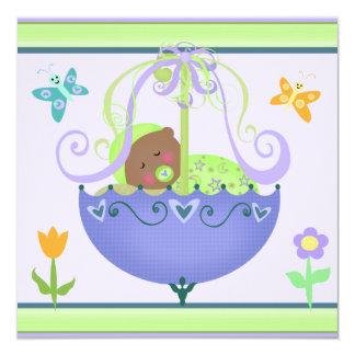 Baby Shower Custom Invitation Ethnic