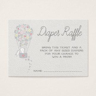 Baby Shower Diaper Raffle Tickets | Little Bunnies
