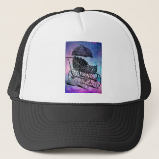 BABY SHOWER DREAMS TRUCKER HAT