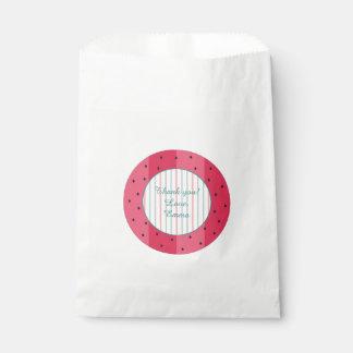 "Baby Shower Favor Bag ""Watermelon Umbrella"""