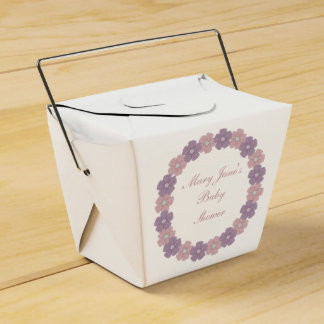Baby Shower Favor Box Favour Boxes
