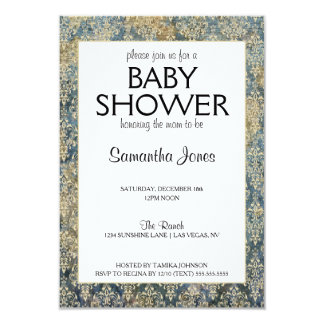 Baby Shower Gender Neutral Design 9 Cm X 13 Cm Invitation Card