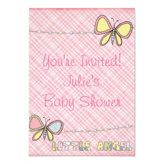 Baby Shower - Girl  - Scrapbook Invitation