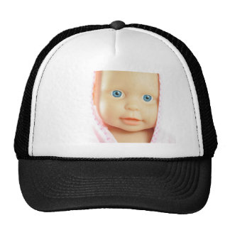 Baby shower mesh hat