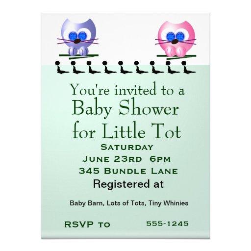 Baby Shower Custom Invite