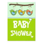 Baby Shower Invitation-Blue 13 Cm X 18 Cm Invitation Card