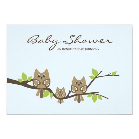Baby Shower Invitation (Boy)