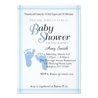 Baby Shower Invitation - Boy