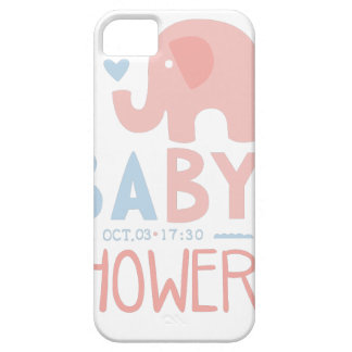 Baby Shower Invitation Design Template With Toy El Case For The iPhone 5