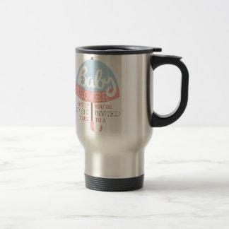 Baby Shower Invitation Design Template With Umbrel Travel Mug