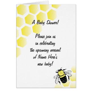 Baby Shower Invitation Greeting Card