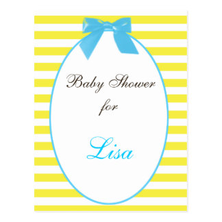 Baby shower Invitation Postcards