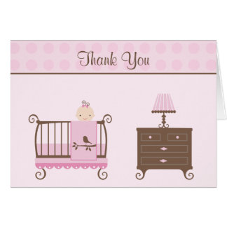 Baby Shower Invitation Thank You Card