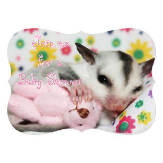 Baby Shower Invitation with Sugar Glider