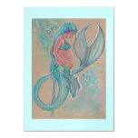 Baby shower invitations blue mermaid by Renee