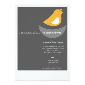 Baby Shower Invitations - Modern Bird