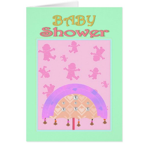 Baby Shower Greeting Cards ~ Baby shower invitations template zazzle