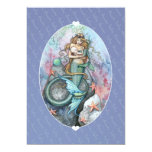 Baby Shower Invites Invitations Mermaid and Baby