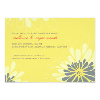 BABY SHOWER INVITES :: modern bloom 2L