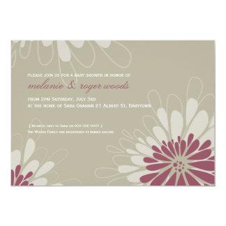 BABY SHOWER INVITES :: modern bloom 5L