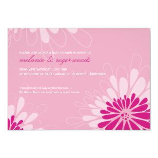 BABY SHOWER INVITES :: modern bloom 6L