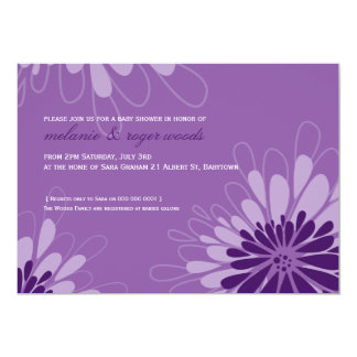 BABY SHOWER INVITES :: modern bloom 7L