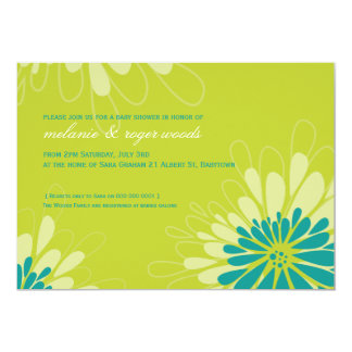 BABY SHOWER INVITES :: modern bloom 9L