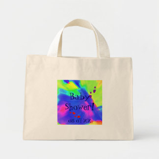 Baby Shower Mini Tote Bag