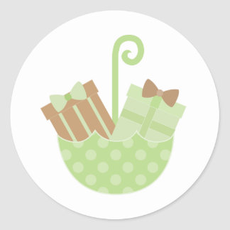 Baby Shower or Bridal Shower Stickers