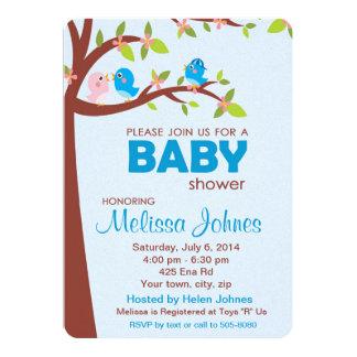 Baby Shower Party Invitation Boy