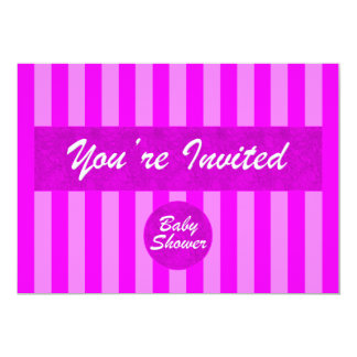 Baby Shower Pink Invitation