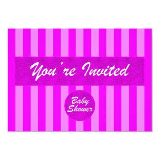 Baby Shower Pink Invitation
