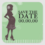 Baby Shower Save the Date Sticker