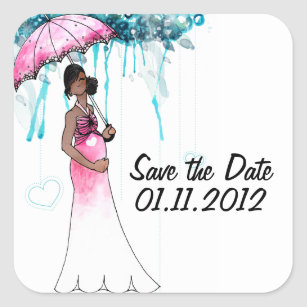 Nice Baby Shower Save The Date Stickers