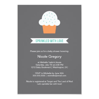 Baby Shower | Sprinkled With Love 13 Cm X 18 Cm Invitation Card