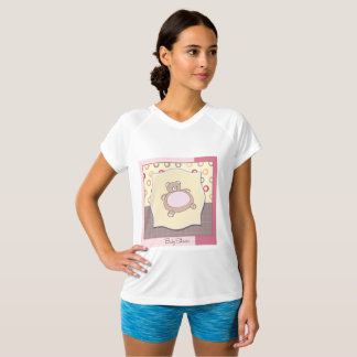 Baby Shower Teddy Bear Womens Active Tee