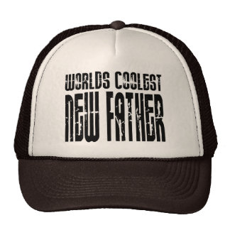 Baby Showers New Dads : Worlds Coolest New Father Mesh Hat